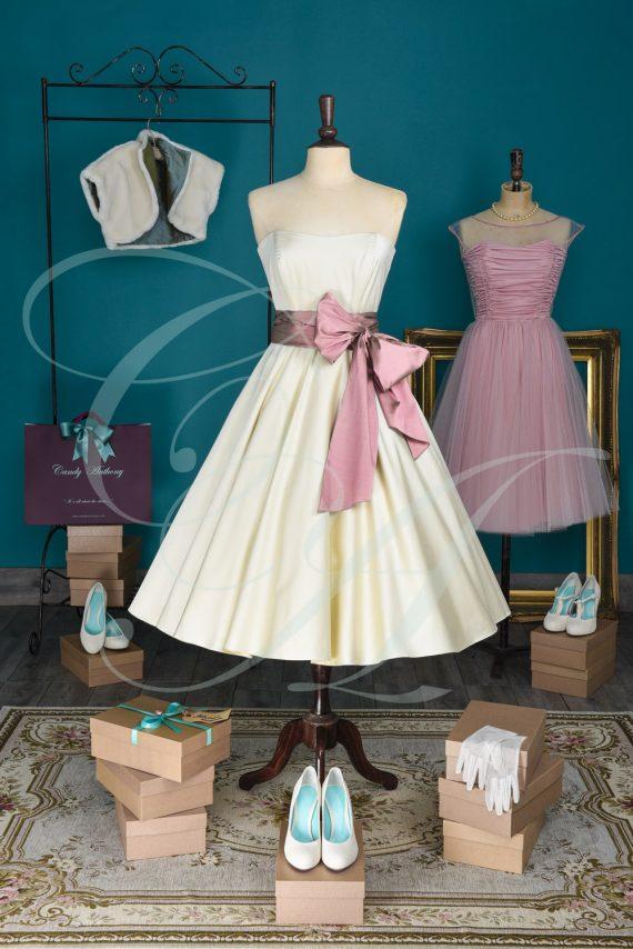 A Fine Dusting of Polkadots dress