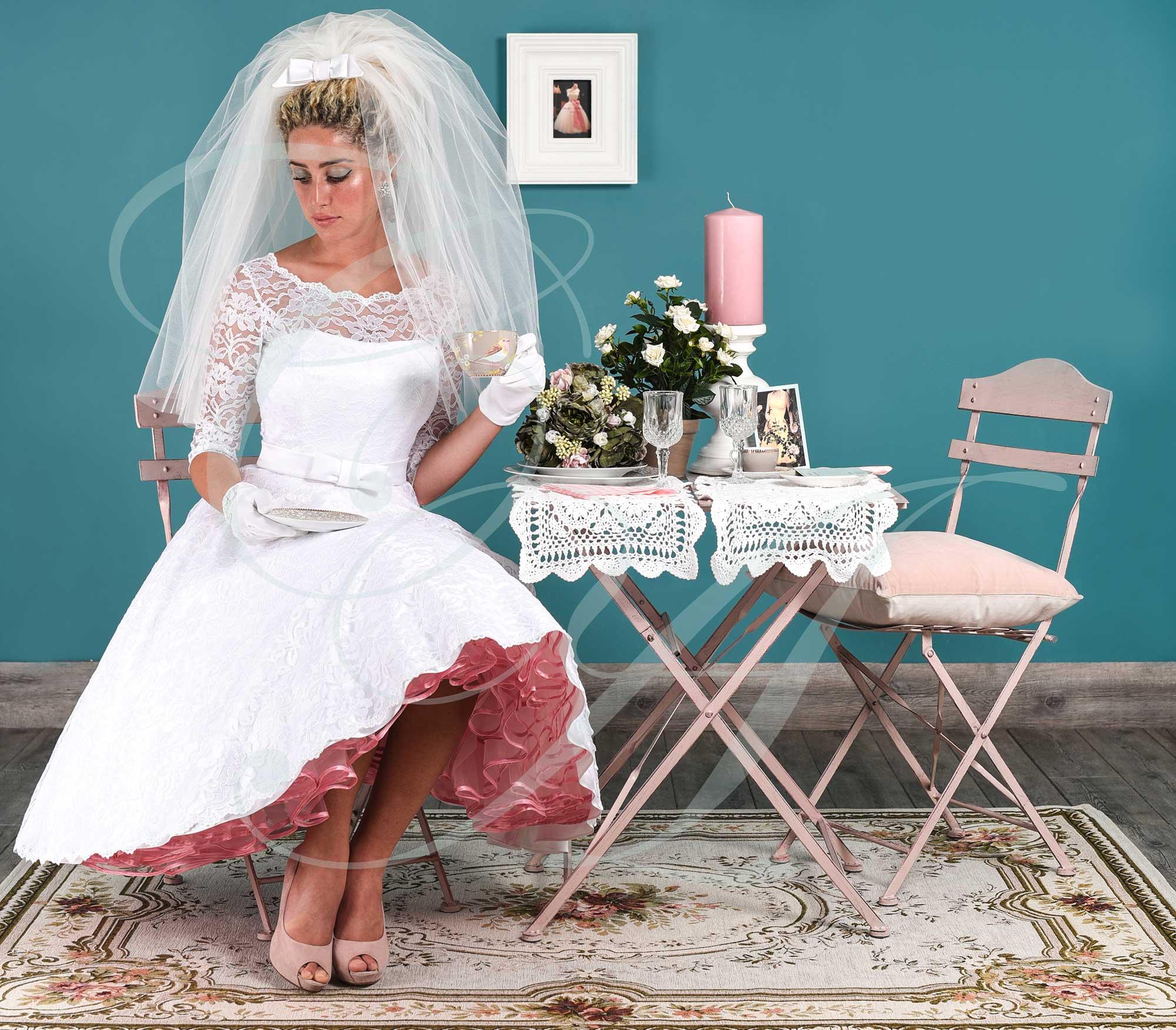 Vintage Wedding Dresses East London: 1950s & 1960s Style Wedding Dresses