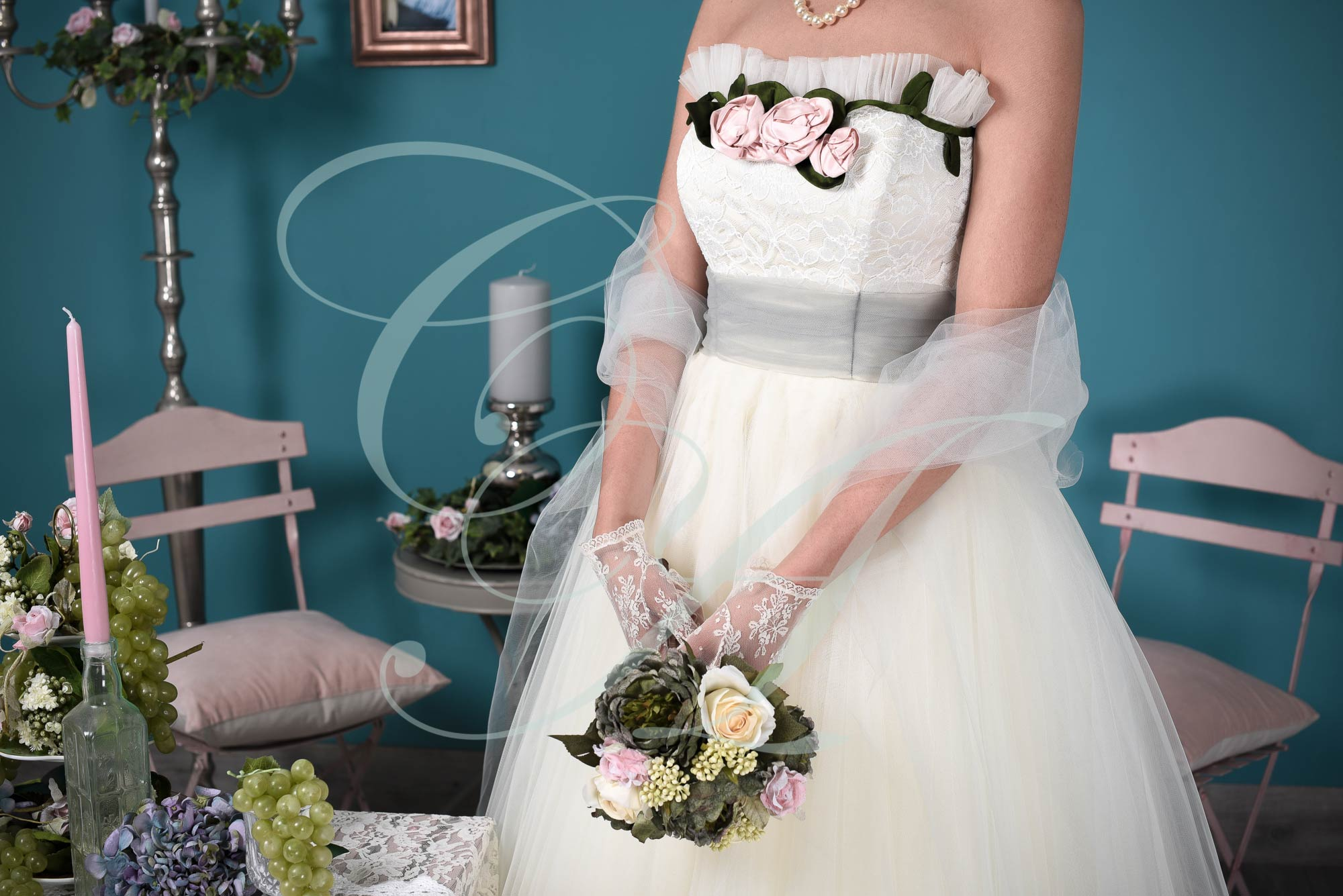 1950s & 1960s Style Wedding Dresses | Tea Length Wedding Dresses ...