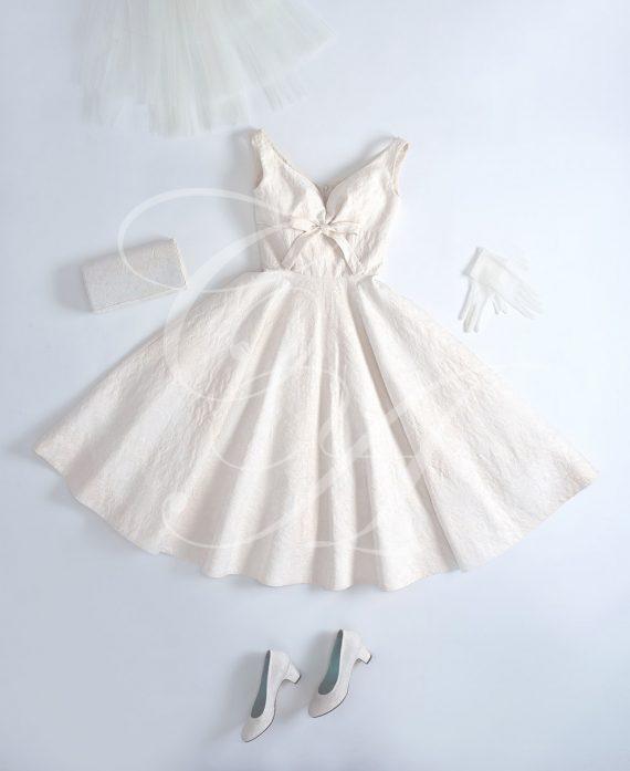 Brocade Bespoke Dress by Candy Anthony