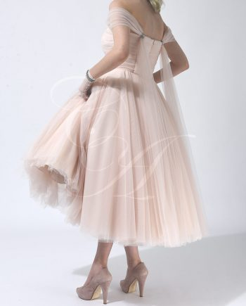 High Tea Bespoke Tulle Dress by Candy Anthony