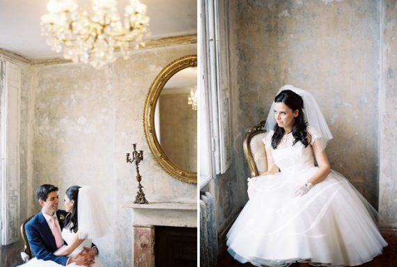 Candy Anthony Rose Lace Wedding Dress