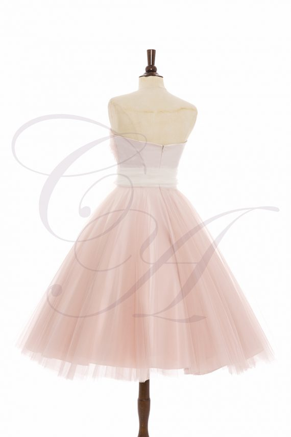 Sugar Frost Bespoke Tulle Dress by Candy Anthony