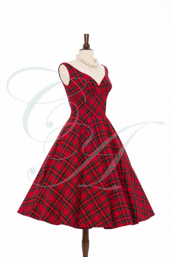 Tartan dress by Candy Anthony