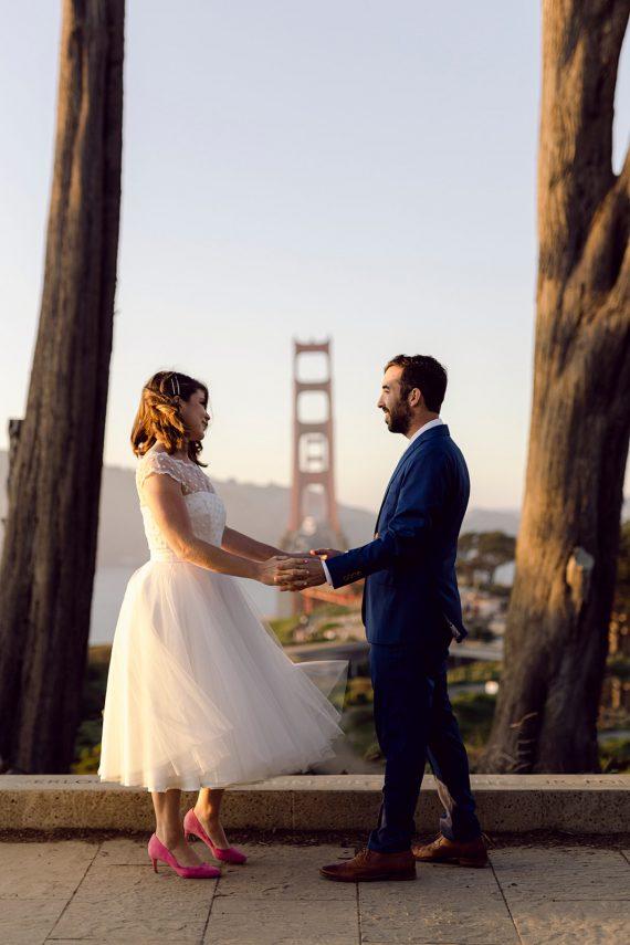 Real life bride San Francisco